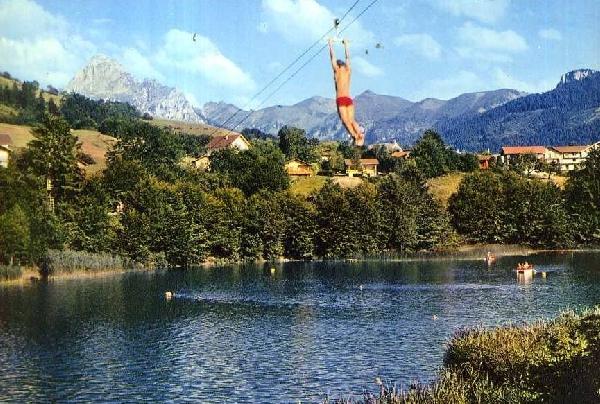 Le lac de la Beunaz.