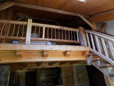 Mezzanine vue du bas
